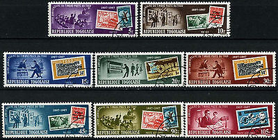 Togo 1967 SG#553-560 Stamps 70th Anniv Cto Used Set #D35388
