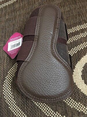 Lemieux Micropore Brushing Boots Brown Medium Brand New