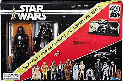 "Star Wars 40Th Anniversary Black Series 6"" Inch Darth Vader Legacy Box Figure"