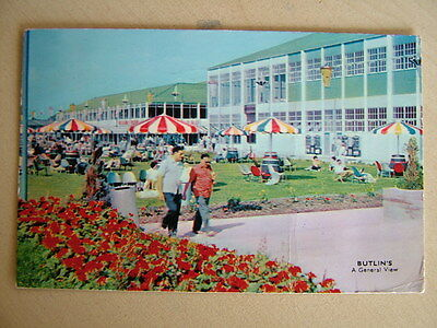 Postcard - A GENERAL VIEW, BUTLIN'S. Used 1962. Standard size.