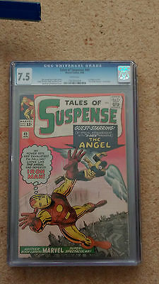 Tales Of Suspense #49 - Cgc Graded 7.5  - Cents - In The Top 150 World Copies