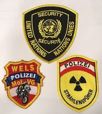 versch. Patch Bundespolizei
