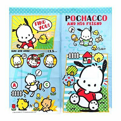 2016 Sanrio Pochacco Dog Bedroom Door / Window Curtain ~ NEW