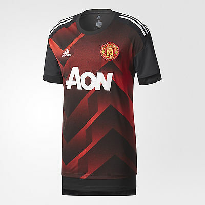 adidas Manchester United  2017 - 2018 Elite Training Soccer Jersey Kids - Youth