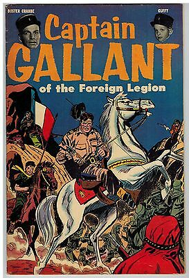 Captain Gallant Of The Foreign Legion Scarce Giveaway Comic Golden Age 1955!