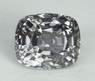 4.29Ct *certified Natural* Rare Silver Gray To Bluish Violet Color Shift Spinel