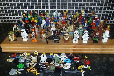 Lego Mini Figure Bundle X 94 /star Wars/superman//simpsons/spider-Man/avengers++