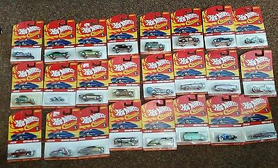 LOT OF 24 Different  HOT WHEELS CLASSICS 25-SERIES 1 and 2