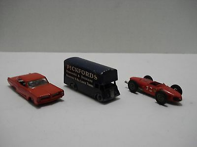 MATCHBOX LOT OF 3 VEHICLES MADE IN ENGLAND 1960's VINTAGE