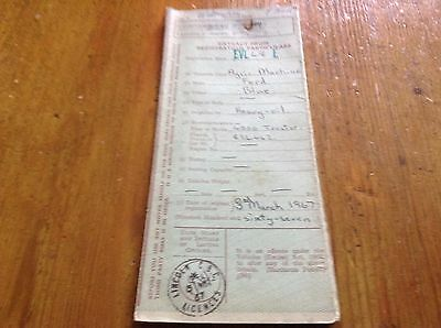 Ford 4000 Tractor Log Book