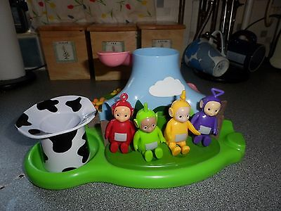 Tomy Teletubbies floating bath island toy - RARE