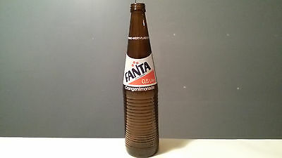 very rare & old 0,5L Fanta Bottle 40 years old / Coca Cola Company Germany Empty