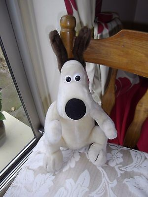 Vintage 1989 Wallace and Gromit, Gromit Soft Toy