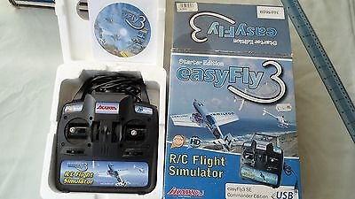 Starter Edition Easy Fly3 R/c Flight Simulator Ikarus Windows Xp 2000 Vista
