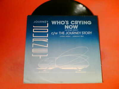 "JOURNEY Who's Crying Now/The Journey Story Limited Edition 12"" Vinyl!"