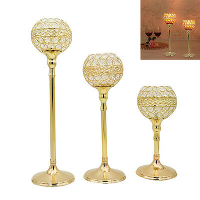Newly Wedding Candlestick European Luxury Candle Holder Table Decor Centerpiece