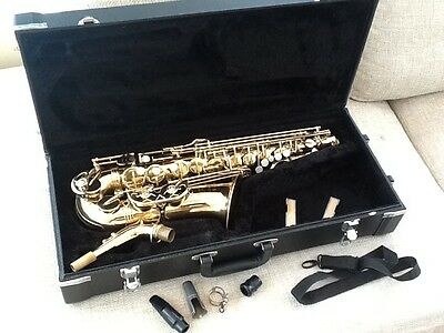 Buffet Crampon Evette Alto Saxophone Serviced & Ready To Play With Jupiter Case