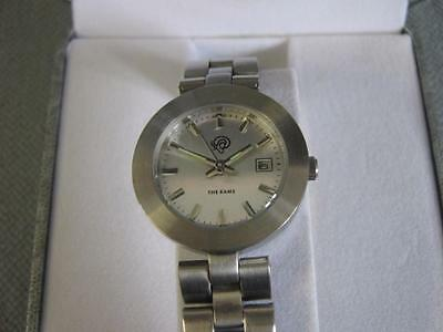 """Smart Stainless Steel Derby County """"The Rams"""" Watch in Box"""