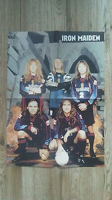 IRON MAIDEN / MERCYFUL FATE poster metal rock shipping 5$
