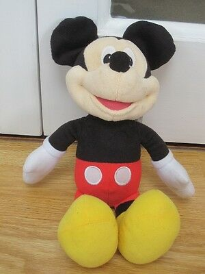 "Talking Singing Hot Dog Mickey Mouse 13"" Soft Toy"