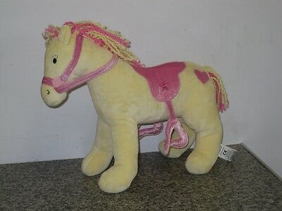 "M&s Pretty Horse 10-12"" Plush Super Soft Toy Pony Horse Marks & Spencer"