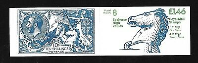 1983 Folded Booklet FO1A. Cat £11