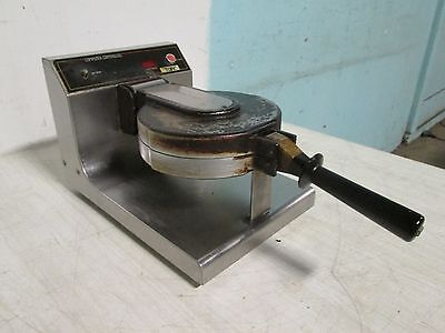 """munsey Rcm-8"" Heavy Duty Commercial Computerized Controls Waffle Cone Maker"