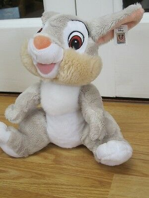 """Thumper From Disney Bambi Plush 11"""" Soft Toy With Tag"""