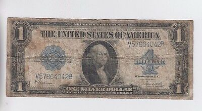 Silver Certificate $1 1923 one old note note lower grade