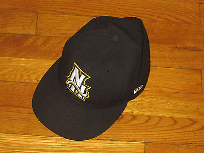 New Era 59 Fifty New Hampshire Fisher Cats 7 1/2 Fitted Baseball Cap Excellent