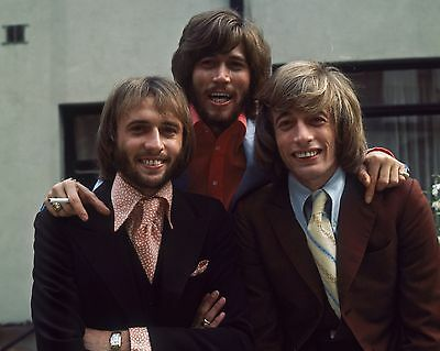 "Bee Gees 10"" x 8"" Photograph no 34"