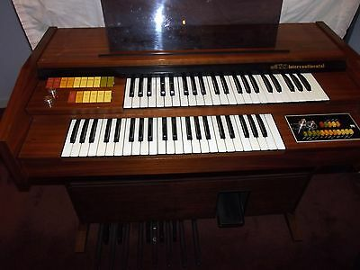 Electric Organ With Stool, Music Books Etc. Gwo. Local Delivery Possible