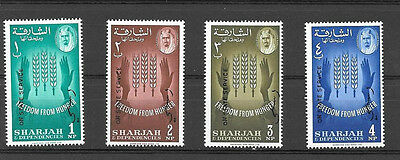 UAE Sharjah 1965 officials mint unlisted in SG