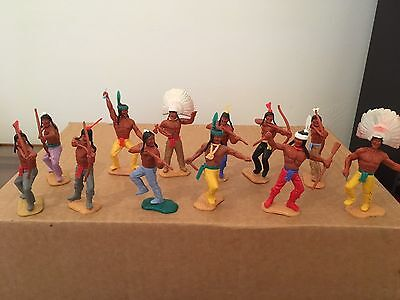 Vintage Timpo  Indians