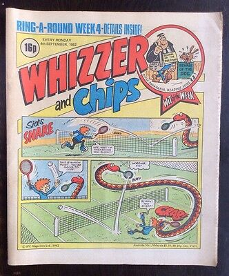 Whizzer And Chips Comic. 4 September 1972. Vfn