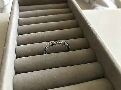 PANDORA 'Hearts of Pandora' Ring MINT Condition Sterling Silver S925 ALE