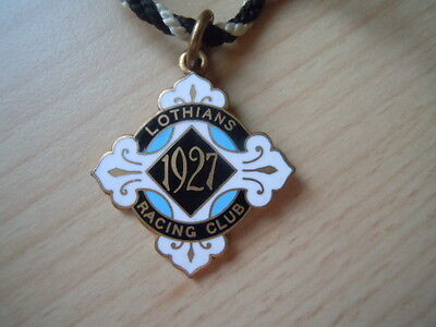 Rare Lothians Members Badge from 1927 - Excellent condition