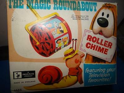 Vintage The Magic Roundabout Roller Chime From 1968 *BOX ONLY*