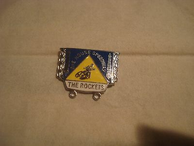 speedway badge  rye house the rockets