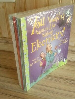 You Wouldn't Want to Live Without Series Collection 12 Books Set, New and Sealed