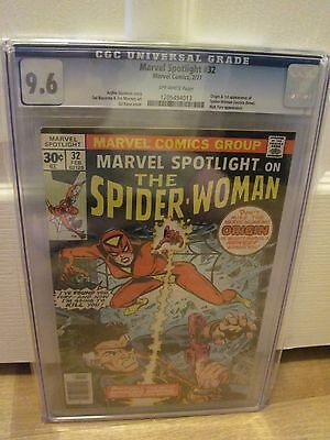 Marvel Spotlight #32 Cgc 9.6 Nm+ 1St Spider-Woman