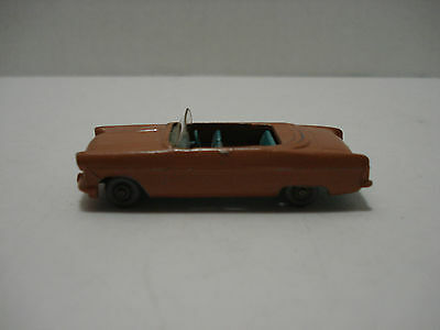 Matchbox Ford Zodiac Convertible # 39-A  Made In England 1957 Vintage