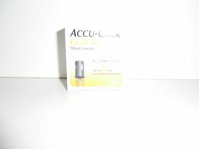 Brand NEW Accu-Chek FastClix 100 + 2 Lancets 08/2019 AUTHENTIC