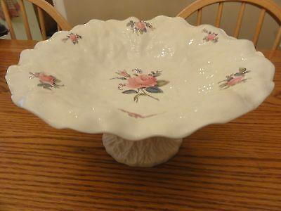 GORGEOUS Copeland Spode China BRIDAL ROSE COMPOTE Made in England Y2862