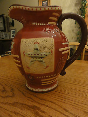 Gorgeous Pfaltzgraff HOLIDAY SPICE 1 Gallon Large Pitcher Perfect Condition
