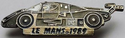 1989 Le Mans Sauber-Mercedes C9 #63 Racecar Pin - Free Combined Shipping