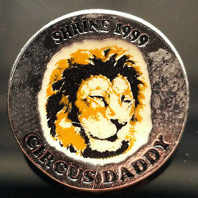 1999 Shrine Circus Daddy Lion Pin