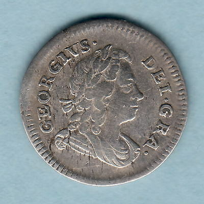 Great Britain. 1727 George 1 - Fourpence..  aVF