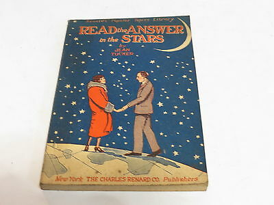 * Read The Answer In The Stars By Jean Tucker 1925 Fortune Teller *