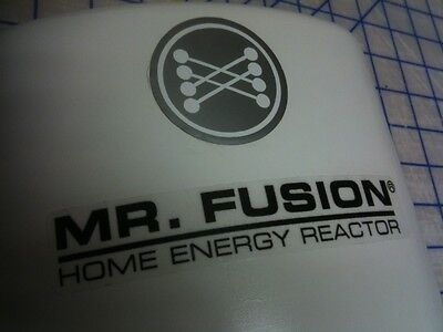 Back To The Future Mr. Fusion Krups 223 Grinder Movie Prop Stickers Decals